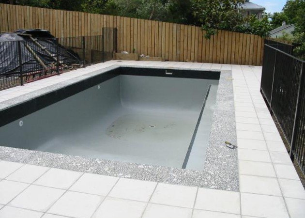Residential pool boulder grey swimming pool paint and - Swimming pool maintenance auckland ...